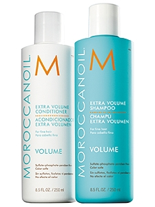 MOROCCANOIL® EXTRA VOLUME SHAMPOO AND CONDITIONER.
